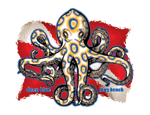 Scuba Club Octopus Deep Blue