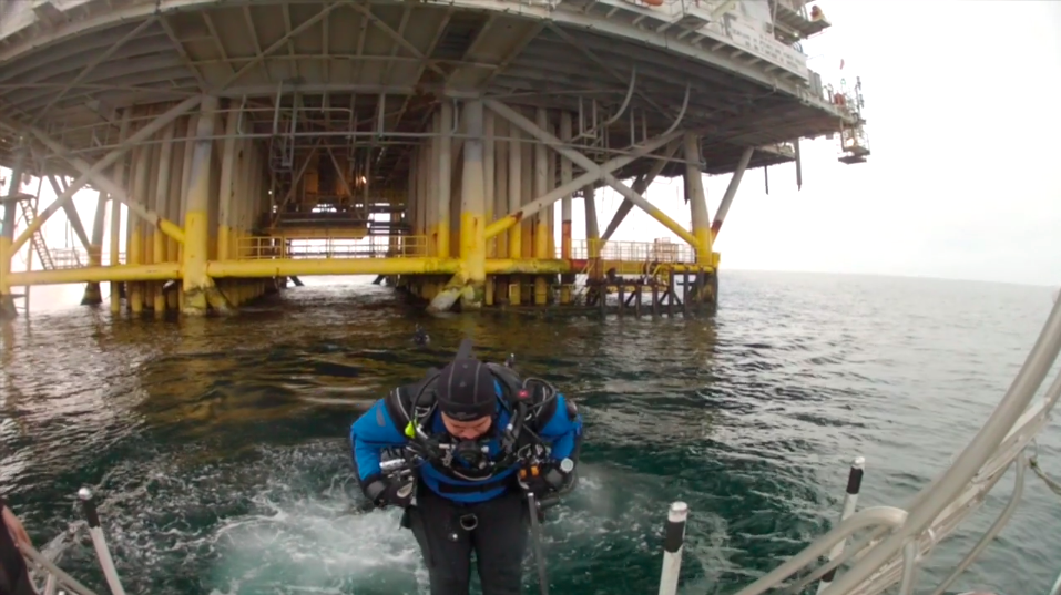 Scuba Diving at California's Oil Rig Platforms