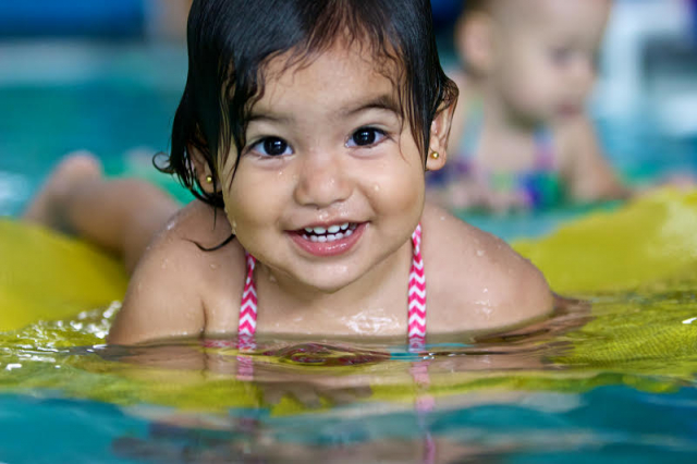 Parent & Me Infant Swim Lessons Deep Blue Long Beach